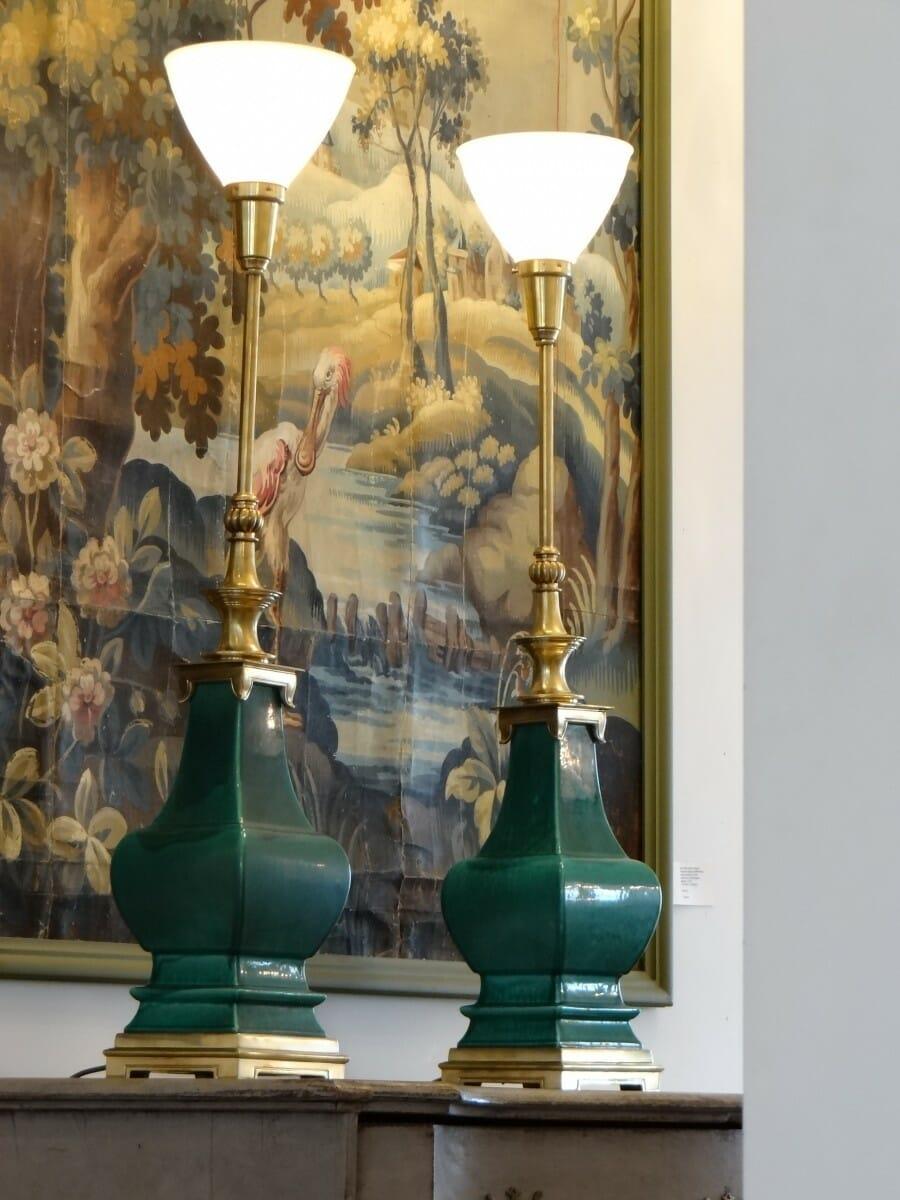 A Pair Of 1970 S Stiffel Lamps European Antiques